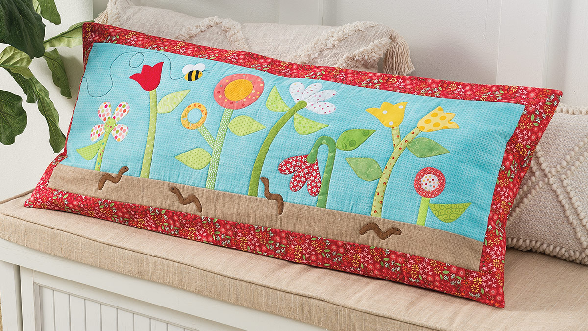 Learn, Make, Create!: Bee Happy Bench Pillow