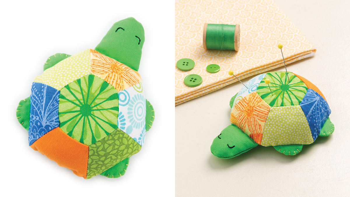 Sleepy Turtle Pincushion video