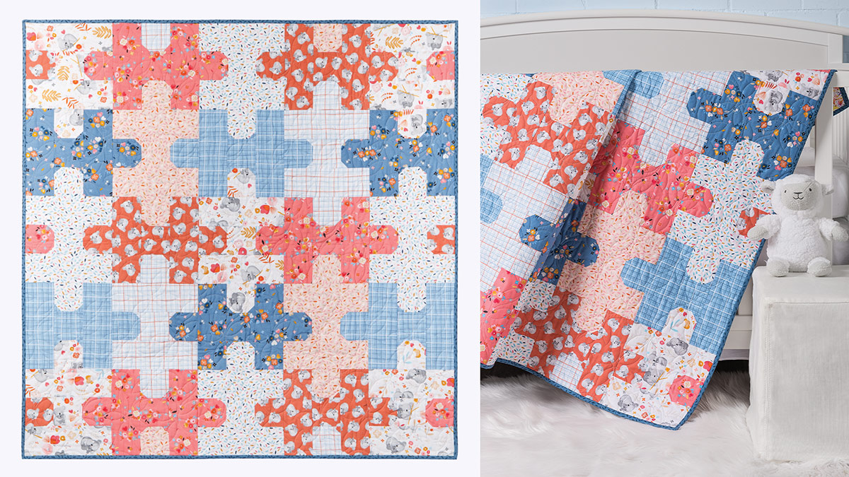 Learn, Make, Create!: Jigsaw Puzzle Quilt
