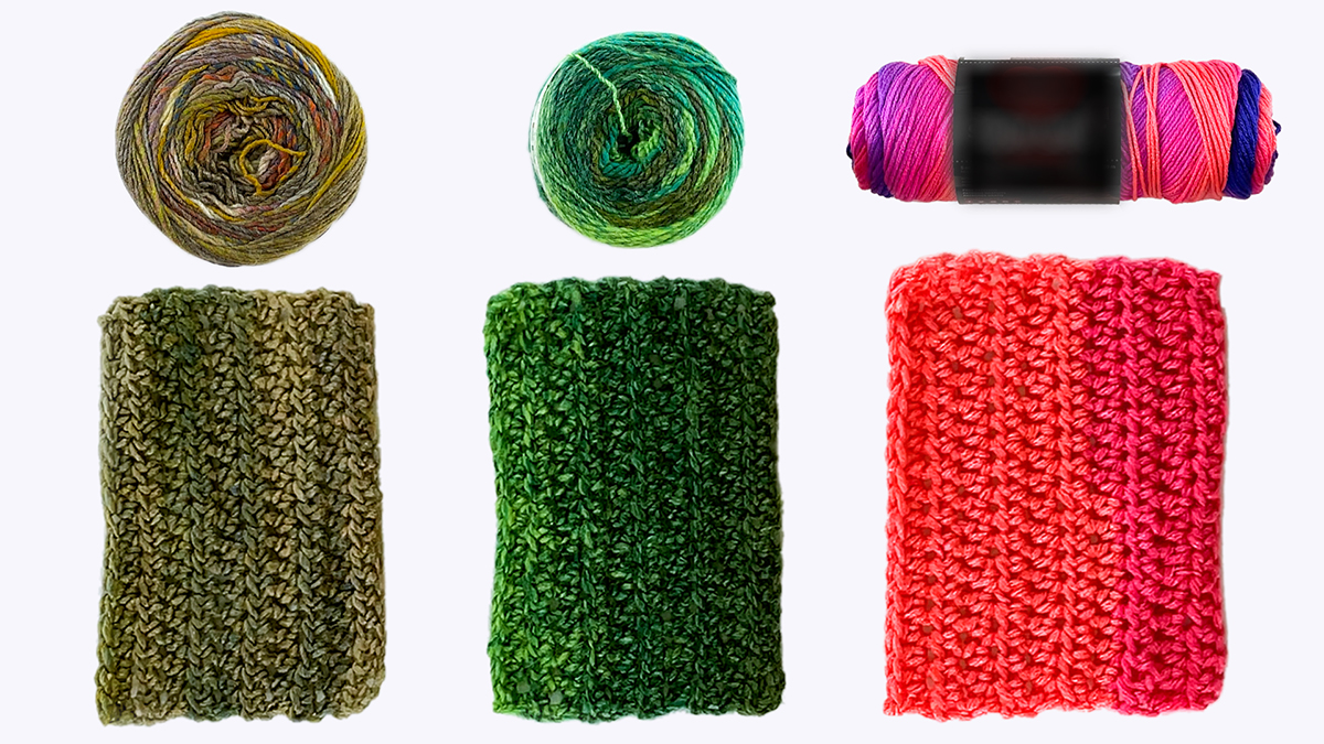 Quick Stitches & Tips: Ins & Outs Yarn Substitution