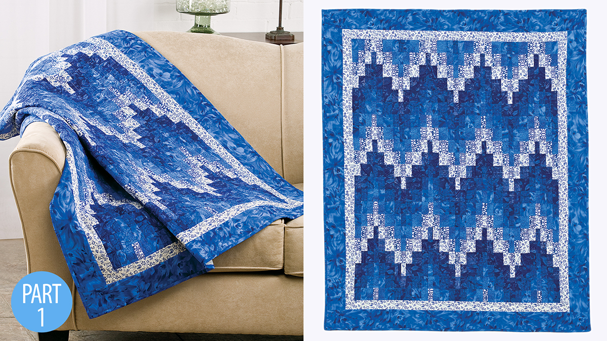 Quilter's Skill Builders: Barjelly Lap Quilt: Part 1