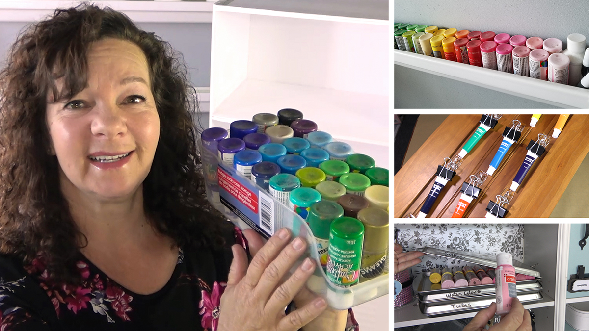 Uncluttered Crafter: Paint Organizing/Know Your Paint