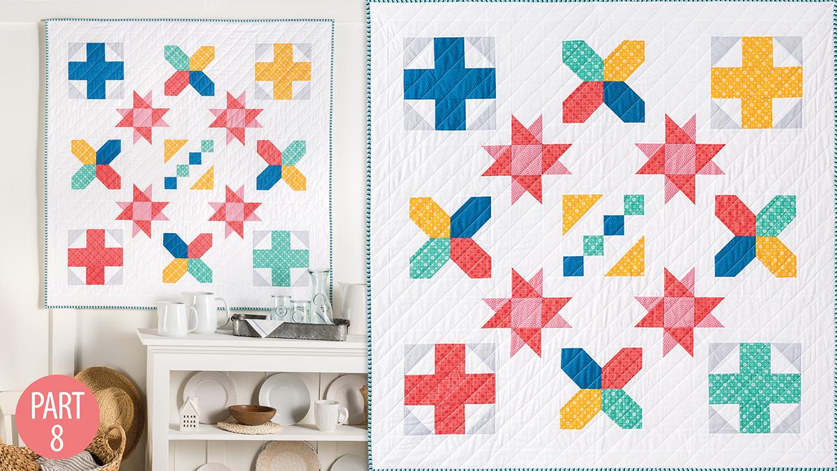 Quilter's Skill Builders: Nancy's Beginner Quilt: Part 8