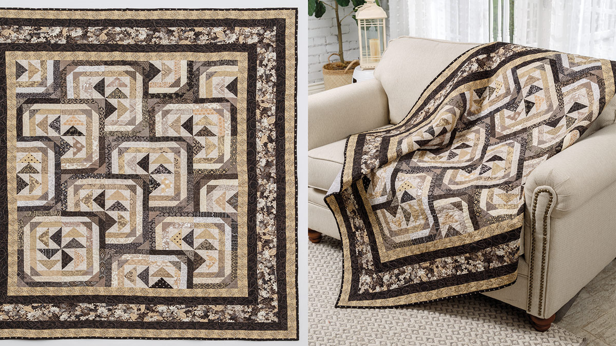 Learn, Make, Create!: Fall Migration Quilt