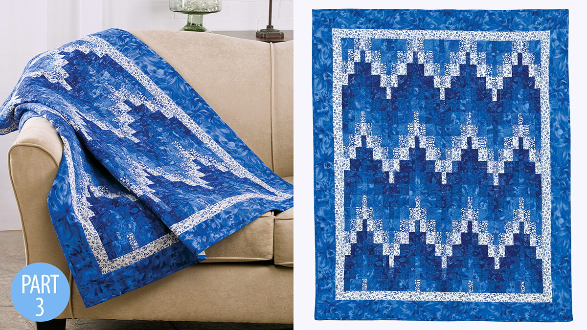 Quilter's Skill Builders: Barjelly Lap Quilt: Part 3
