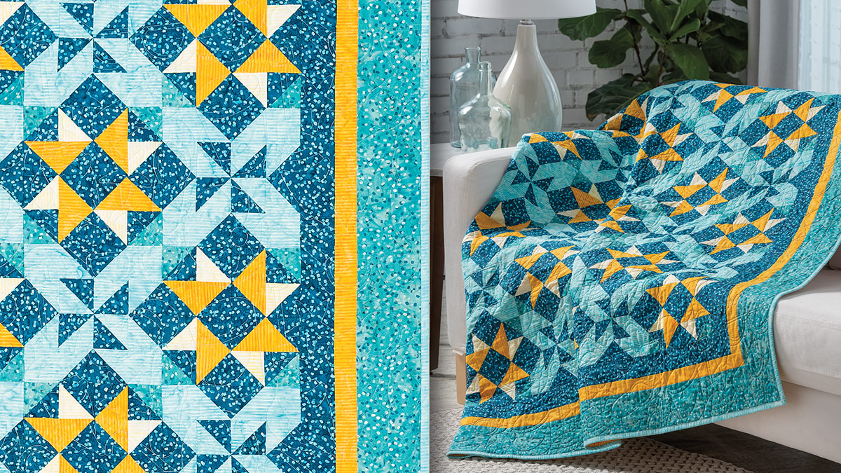 Learn, Make, Create!: Pool Party Quilt