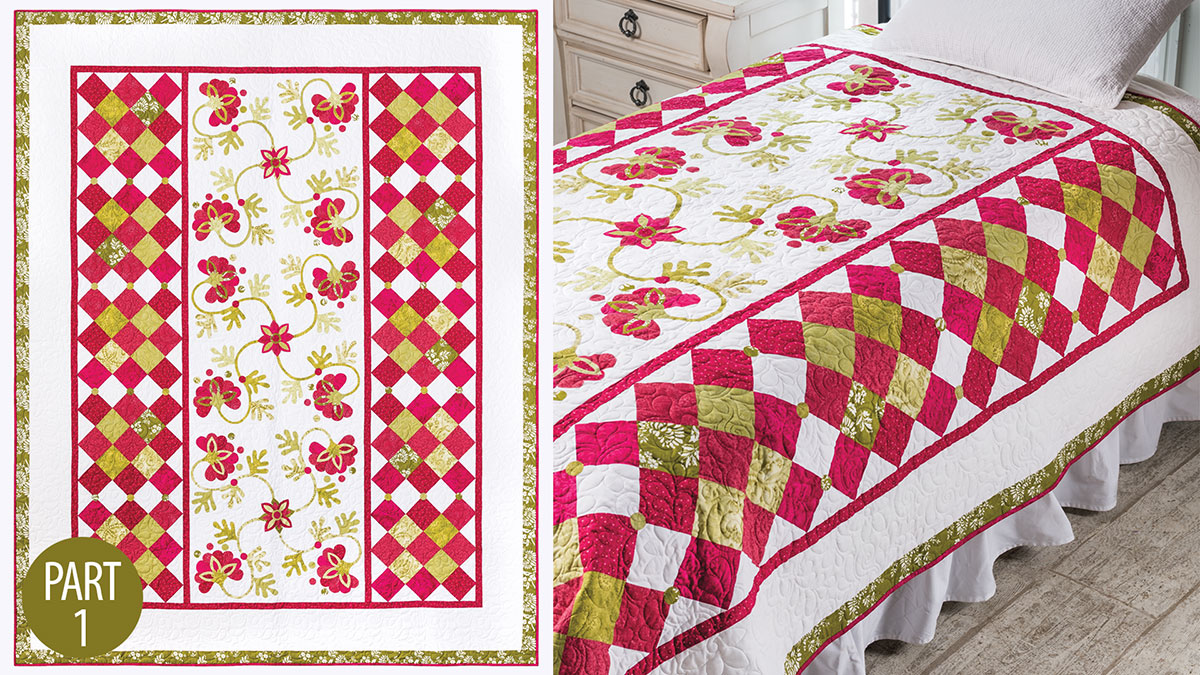Quilter's Skill Builders: Grosse Pointe Park Quilt: Part 1
