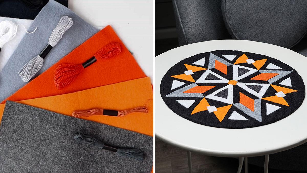 Learn, Make, Create!: Kaleidoscope Table Mat
