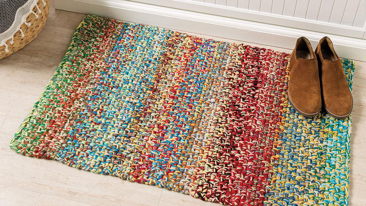 Learn, Make, Create!: Linen Stitch Rug
