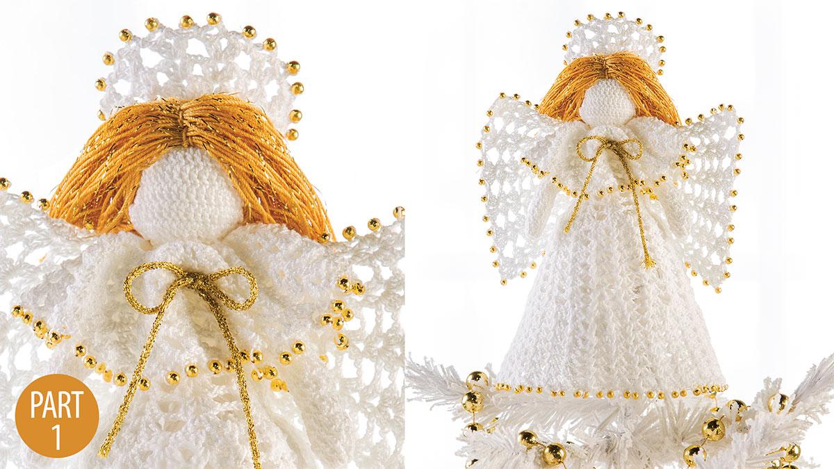 Crochet Skill Builders: Beaded Treetop Angel: Part 1