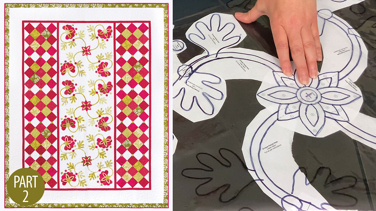 Quilter's Skill Builders: Grosse Pointe Park Quilt: Part 2