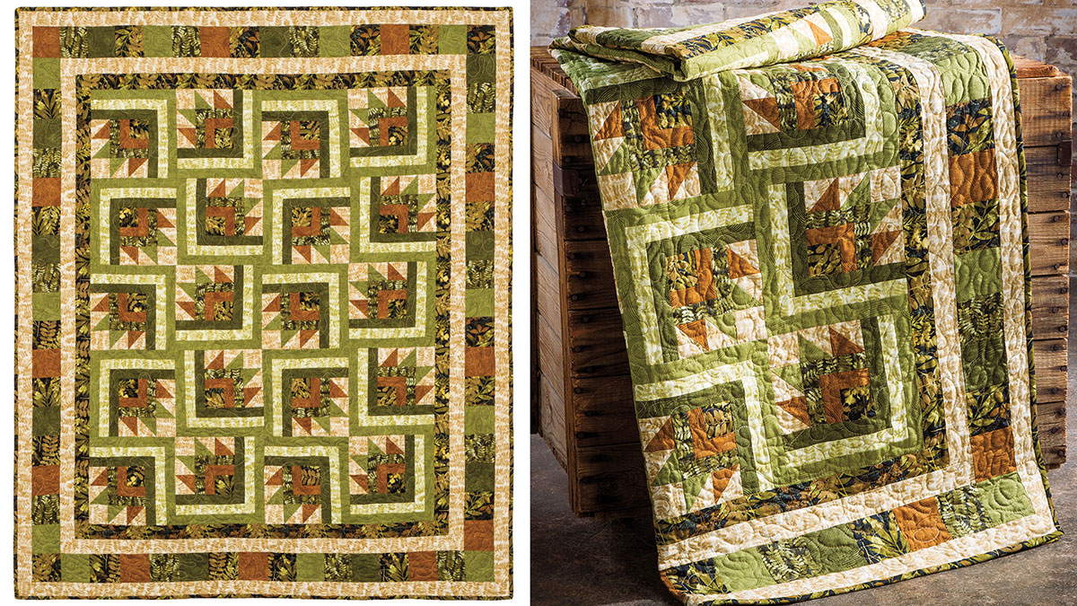 Learn, Make, Create!: A Hint of Fall Quilt