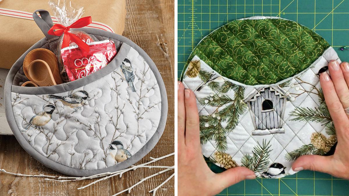 Learn, Make, Create!: Gifty Pot Holder