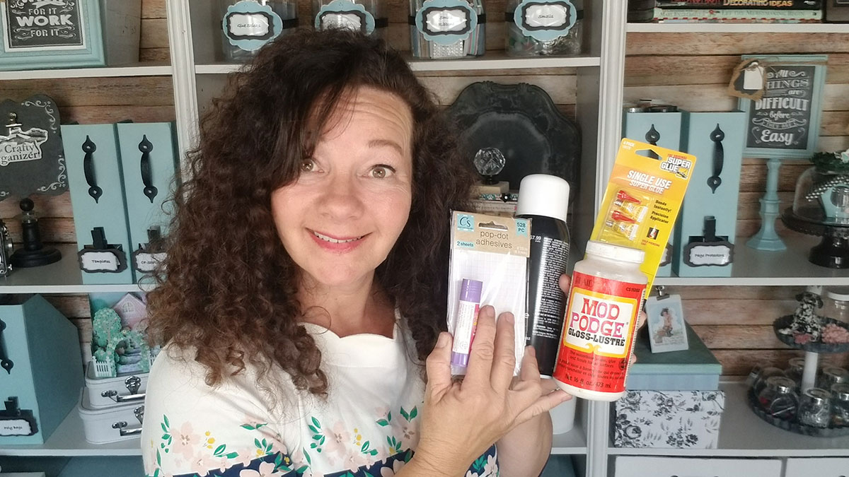 Uncluttered Crafter: Sticky Fingers - All About Adhesives