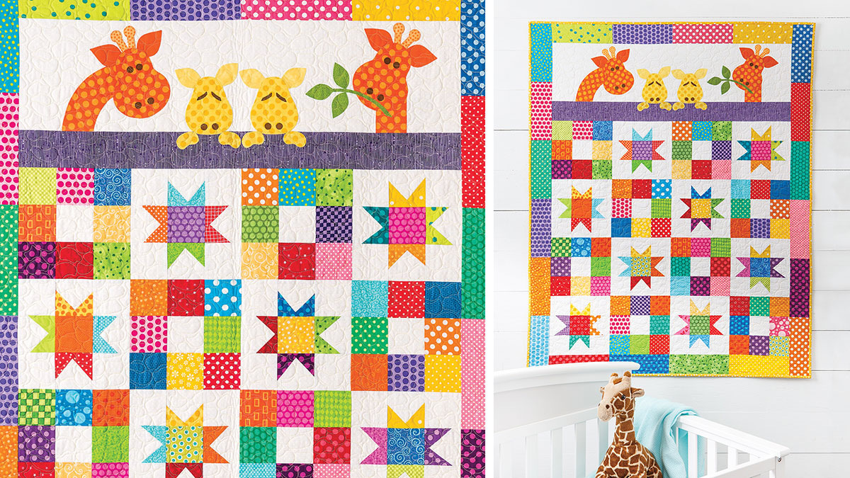 Learn, Make, Create!: Good Night Baby Quilt