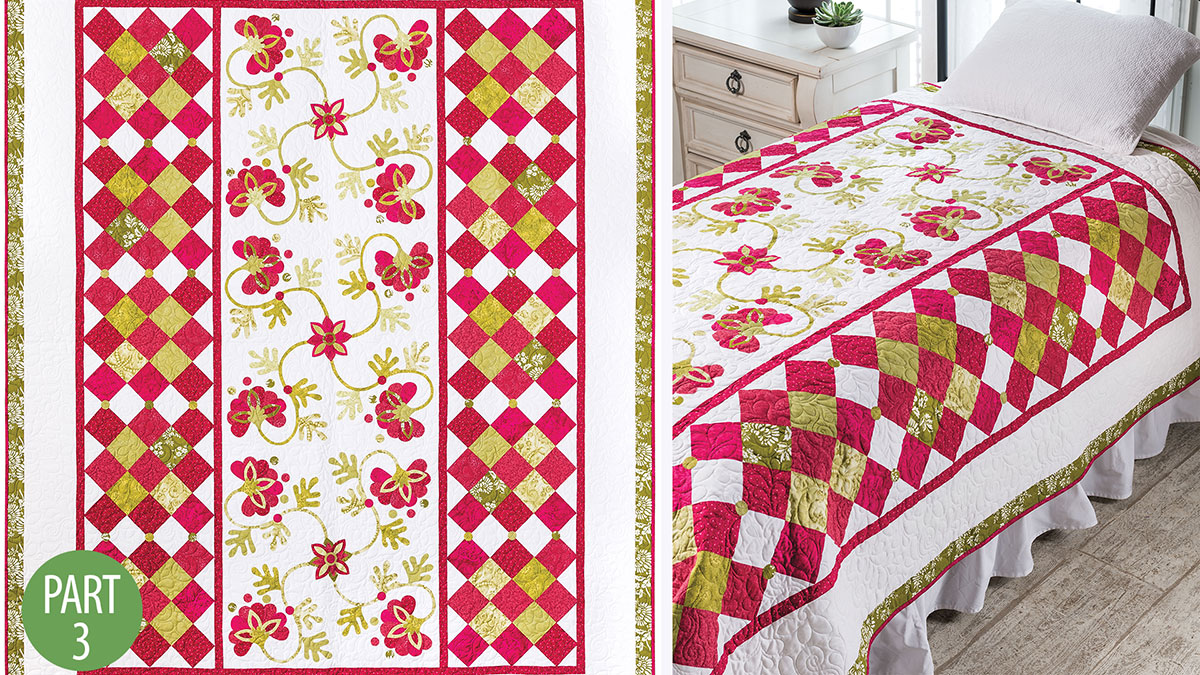 Quilter's Skill Builders: Grosse Pointe Park Quilt: Part 3