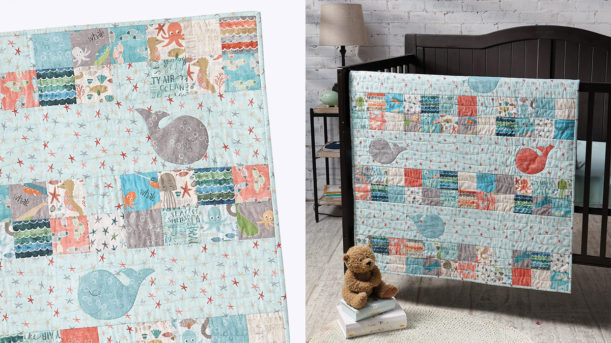 Learn, Make, Create!: Dream Big Little One Baby Quilt