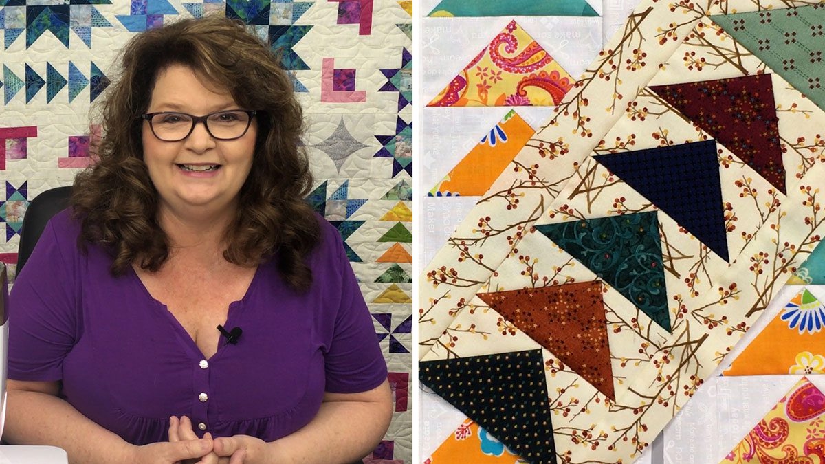 Quilt & Sew Tips: 3 Ways to Make Flying Geese