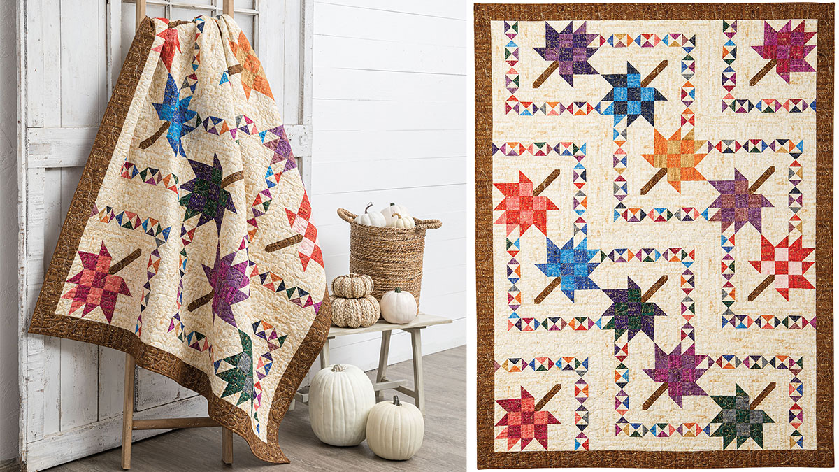 Learn, Make, Create!: Fall Into Quilt