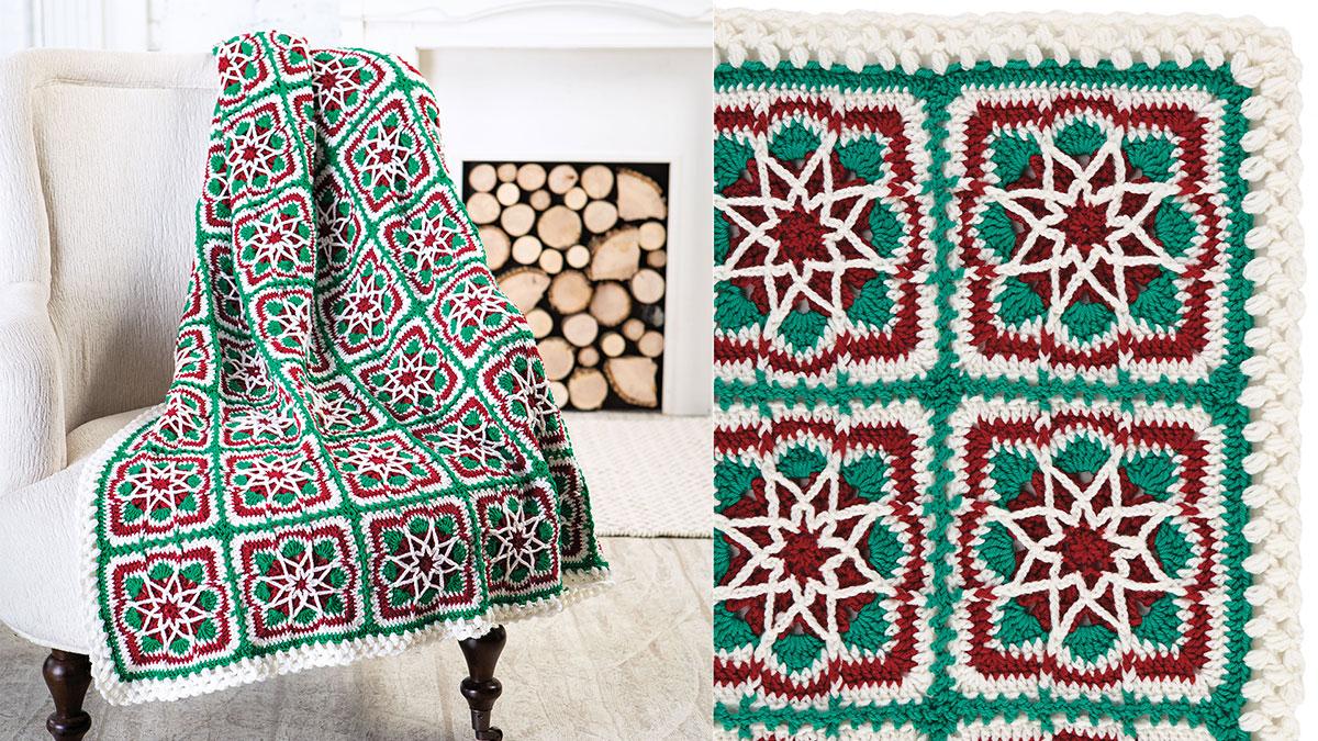 Learn, Make, Create!: Christmas Star Blanket