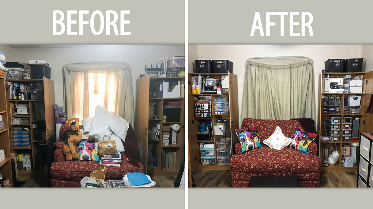 Uncluttered Crafter: Virtual Makeover With Norrine