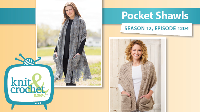 Knit and Crochet Now!: Pocket Shawls