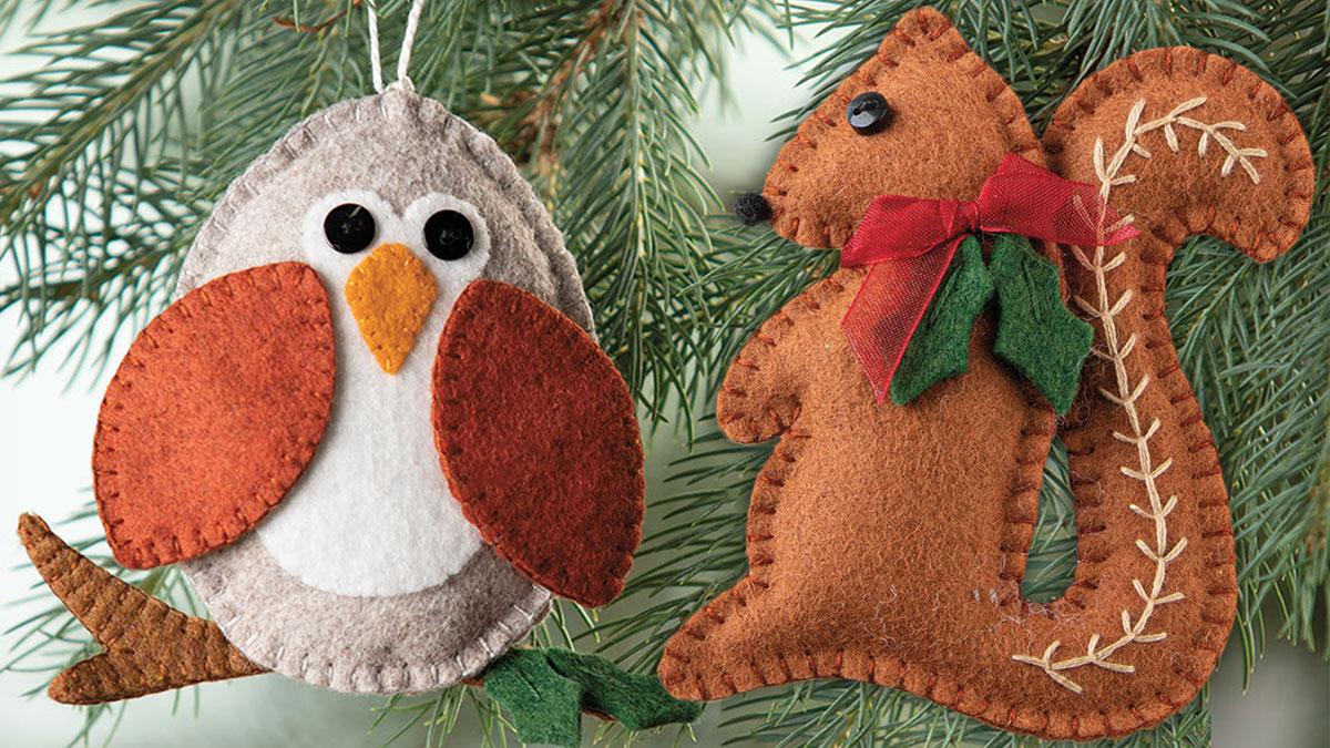 Learn, Make, Create!: Woodland Ornaments