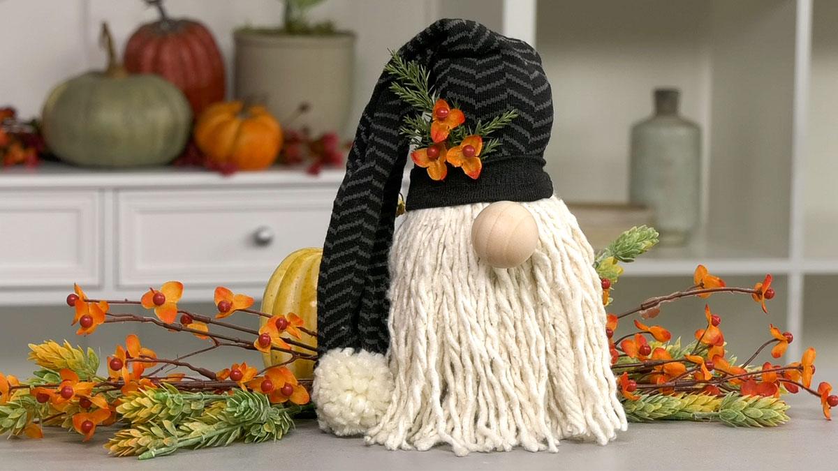 Creative Living: Make A Mop-Head Gnome