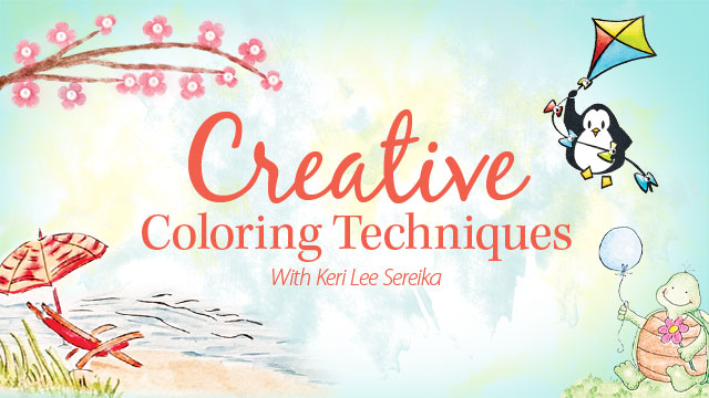 Online Classes: Creative Coloring Techniques