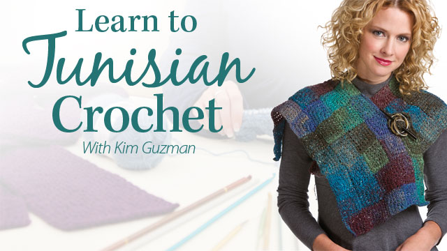 Online Classes: Learn to Tunisian Crochet