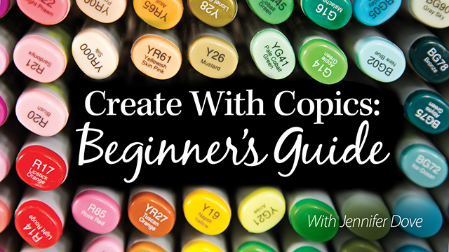 Online Classes: Create With Copics: Beginner's Guide