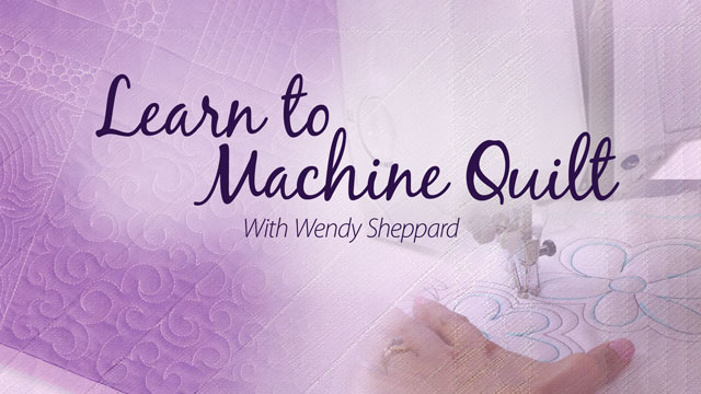 Online Classes: Learn to Machine Quilt