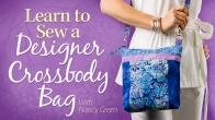 Learn to Sew a Designer Crossbody Bag