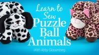 Learn to Sew Puzzle Ball Animals