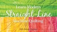 Learn Modern Straight-Line Machine Quilting