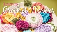 Learn to Crochet Flowers