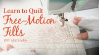 Learn to Quilt Free-Motion Fills