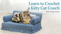 Learn to Crochet a Kitty Cat Couch