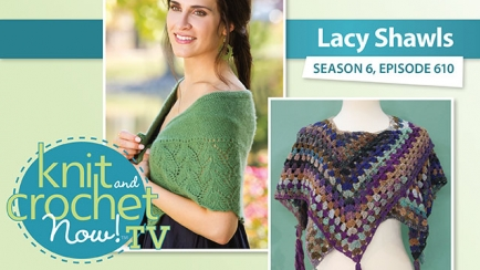Knit and Crochet Now! Season 6: Lacy Shawls