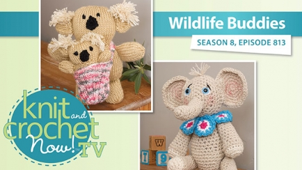 Knit and Crochet Now! Season 8: Wildlife Buddies