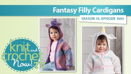Fantasy Filly Cardigans