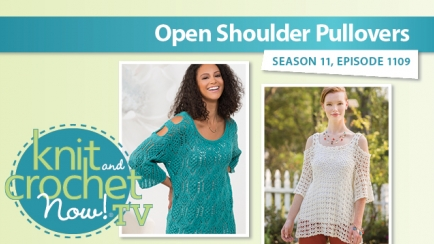 Open Shoulder Pullovers