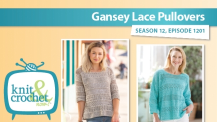 Gansey Lace Pullovers