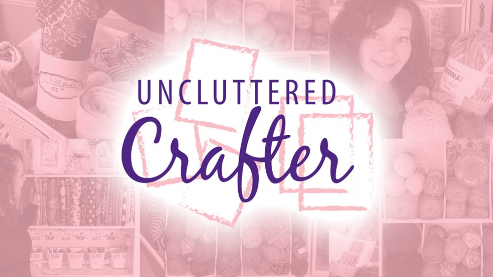 Uncluttered Crafter poster image