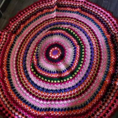 Roundabout Autumn Afghan