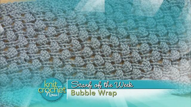 Bubble Wrap Scarf