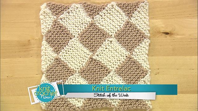 Entrelac (Knit)