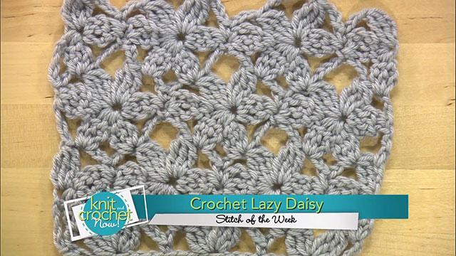 Crochet Lacy Daisy
