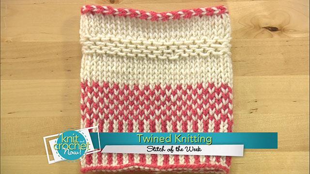 Knit Twined Knitting