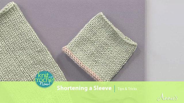 Shortening A Sleeve